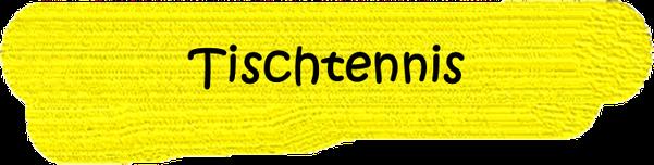 VfL Altenhagen schwarzes Wort Tischtennis auf gelbem Grund