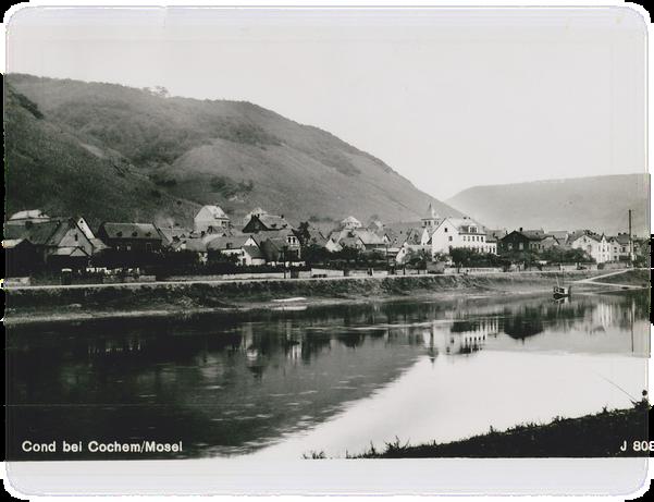 Cochem/Cond um 1890
