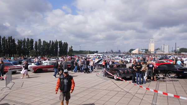 Bild: HDW, Waterfront, US-Car-Treffen-2016, Bremen, Ford, Born to drive