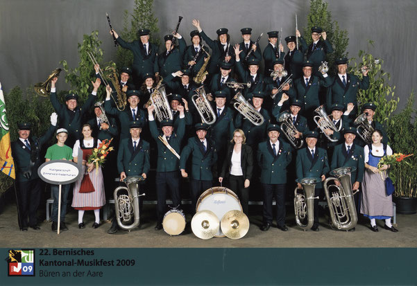 Kantonales Musikfest 2009 in Bühren an der Aare, Dirigentin Cornelia Kindler