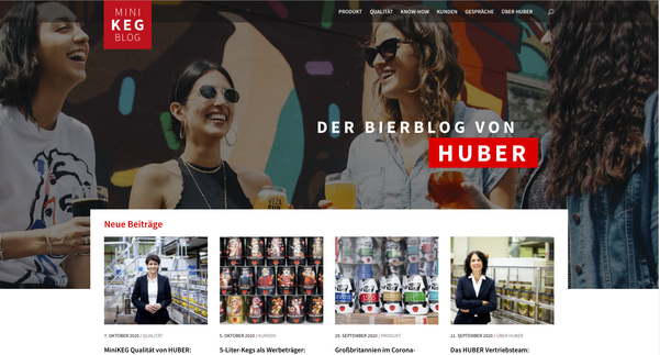 Partyfass Bierfass Minikeg Blog HUBER Packaging