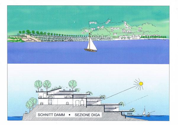 Skizze für Projekt Bissone