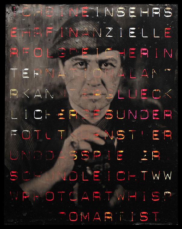 Foto / Kollodium: Peter Michels | 2017 ::: Gestaltung: Andreas Ender | 2018