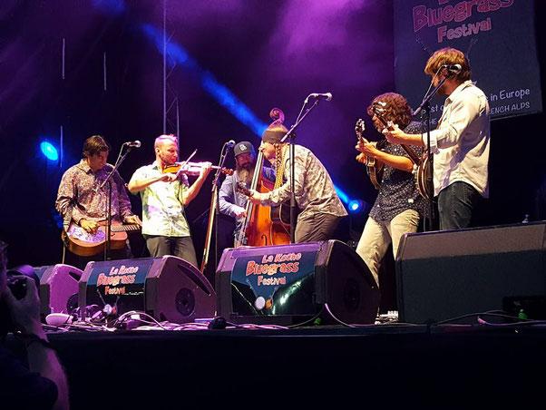 Rapidgrass Band @ La Roche sur Foron (F) annual festival