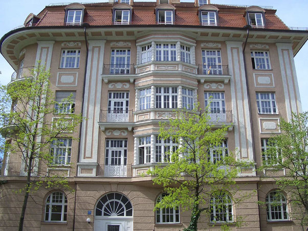 Ansicht unseres Bürostandortes in München