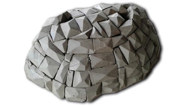 modello in terracotta