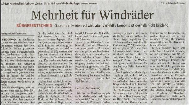 Rhein-Main-Presse v. 02.03.2015