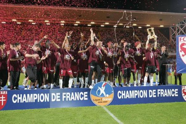 Champion de France de Ligue 2  2006-2007