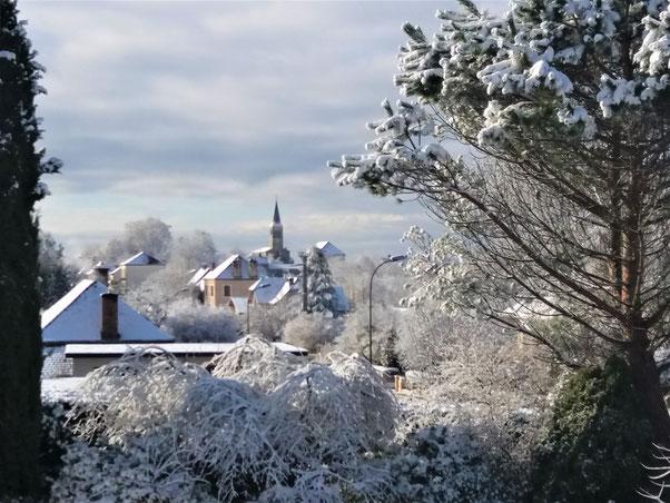 Commune de Montret - vue sur l'Eglise