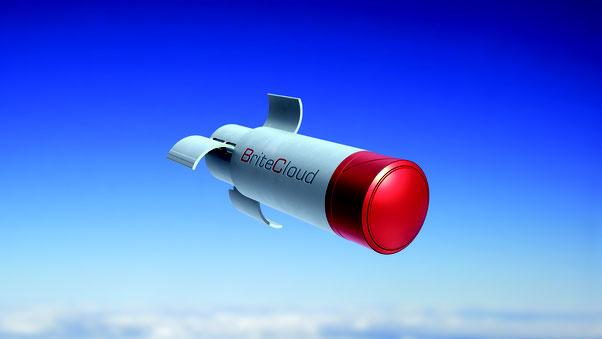 Il sistema BriteCLoud. (Foto: FInmeccanica)