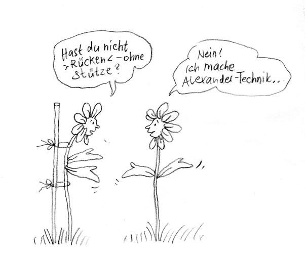 Blumen, Alexander Technik Gesang Köln, Marie-Line Sandle