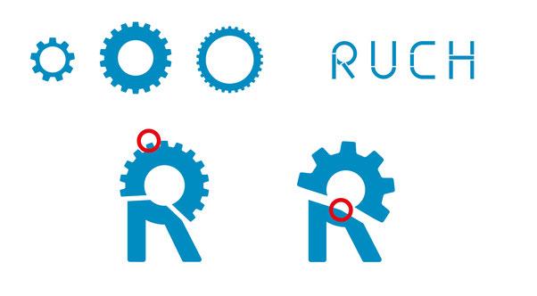 Ruch Landmaschinenservice: Entwicklung Grafik und Logodesign by Lockedesign Burgdorf (Bern)