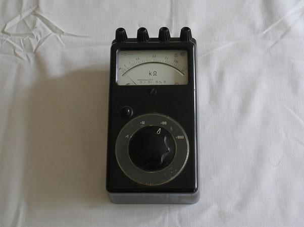 EAW Elektr. Werk Treptow DDR  Universal Multimeter Widerstand von 1950