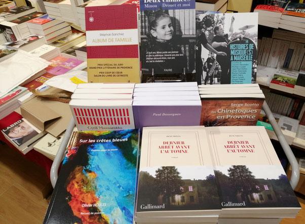 Sur les crêtes bleues (Librairie du Blason - Aix-en-Provence)