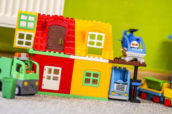Kindertagesstätte Jena mit Duplo-Spielzeug