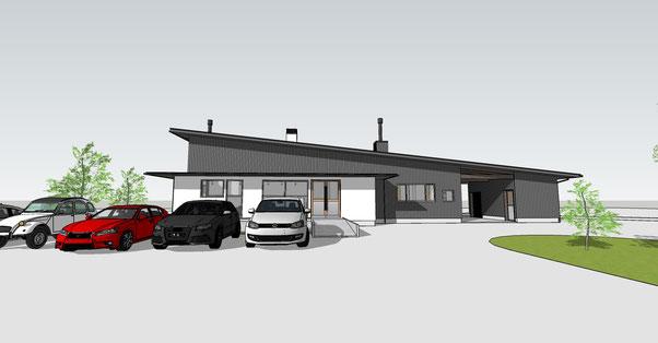 薪ストーブショールーム 安曇野市 建築家 建築設計事務所 店舗設計
