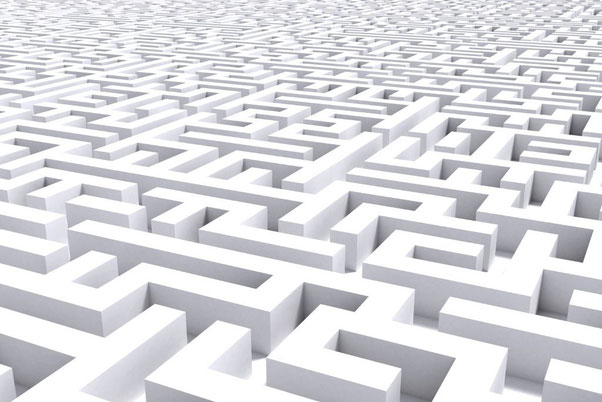 Das Labyrinth des Lebens...