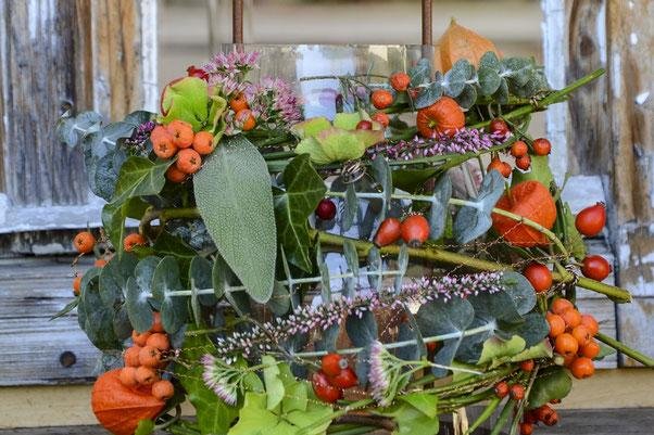 Floristikwerkstatt Hladovsky Ebreichsdorf Workshop Floristik-Kurs Ausbildung Kranz Bindetechnik Doityourself DIY