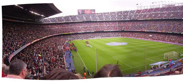экскурсии на Камп Ноу, футбольный матч в барселоне, Футбол в Барселоне