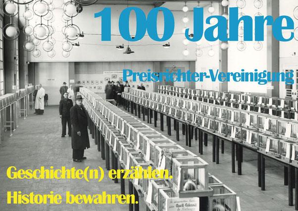 Brieftaubenverband: Blick in die Ausstellung 1952