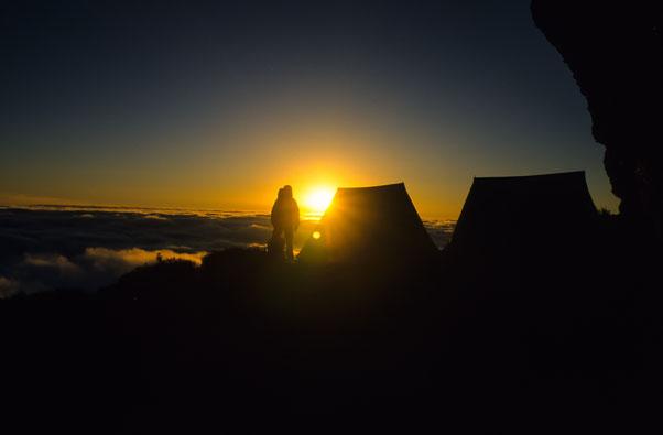 Nepal,  Sonnenaufgang, Asien, Himalaja, Panorama, Trekking,
