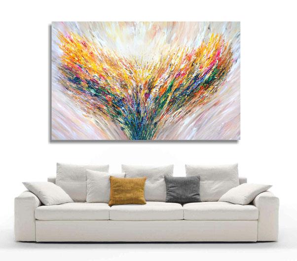 Abstrakte Gemälde, moderne Malerei, Große Originale