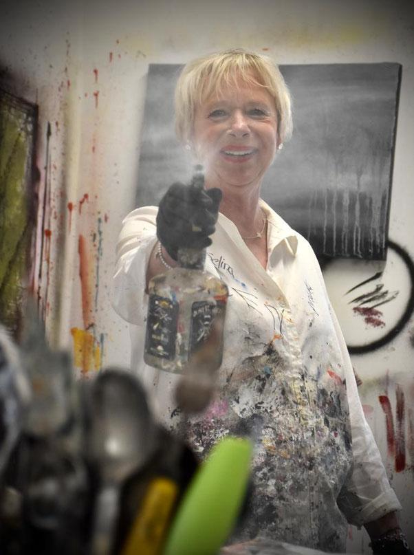 Petra Moosbrugger Künstlerin Algäu