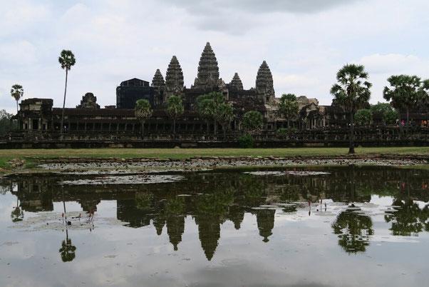 Le mythique Angkor Vat