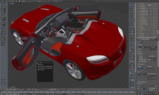 Blender - редактор трехмерной графики