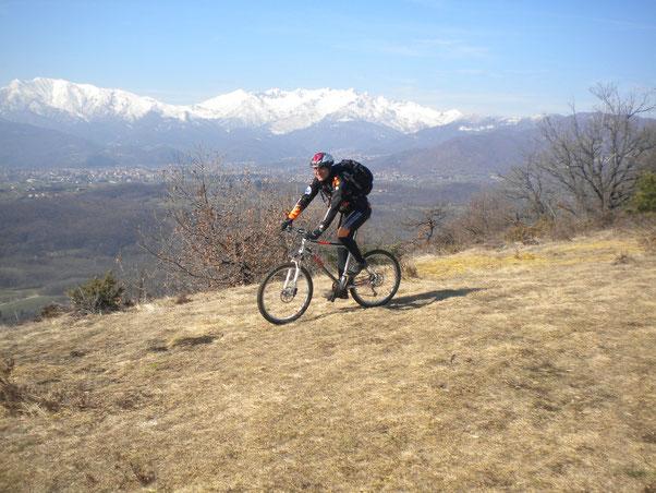 quasi in cima al Monte Cuneo (Moncuni)