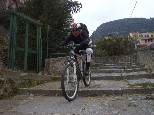 Tony in fuga dal Ligure rancino!!