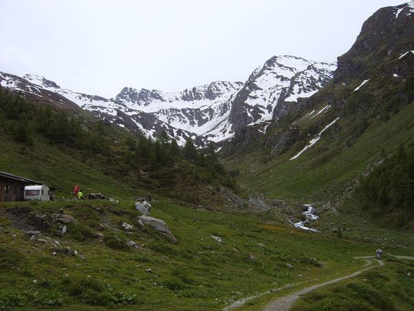 finalmente all'Alpe Mey