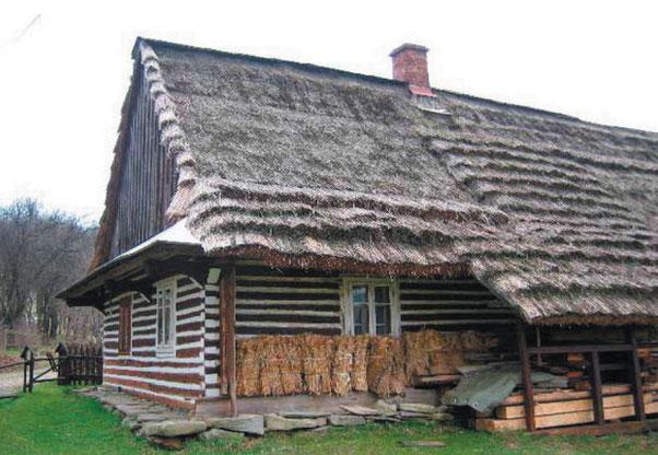 Zdj. 2. Olchowiec — Łemkowska chyża i muzeum Tadeusza Kiełbasińskiego Fot. Bartłomiej Wadas, www.beskid-niski.pl