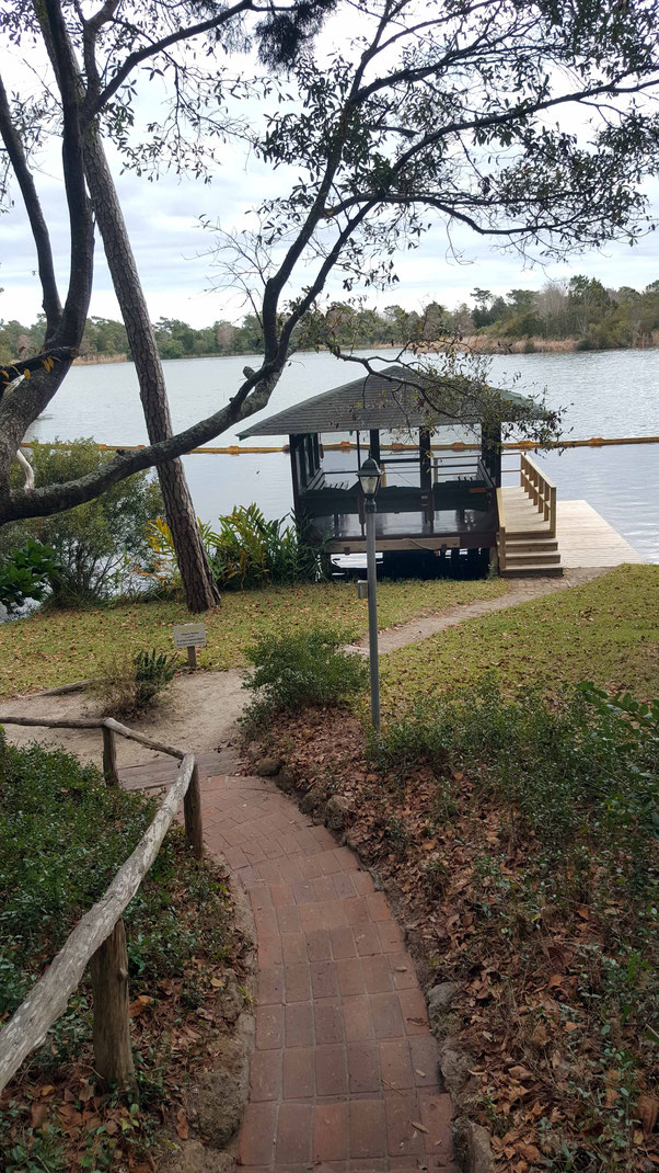 Jan. 2021 : The Boathouse with new decking. Photo taken by Anthony Zois.