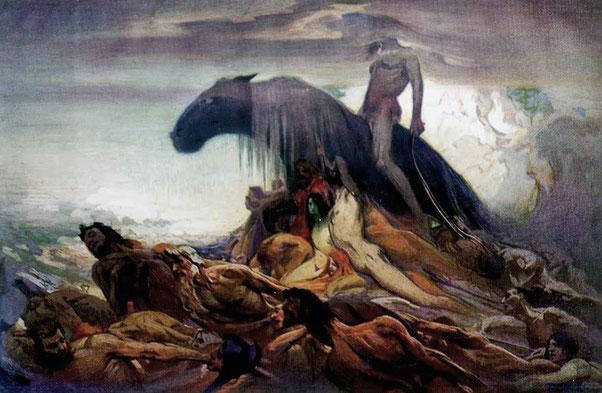 "Ludwig Fahrenkrog, ""Destin"" (1917)"