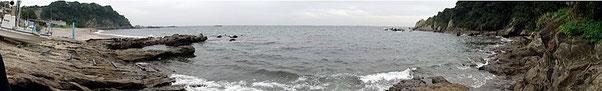 三浦半島大浦海岸