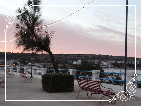 Malta - Mellieha Bay boulevard