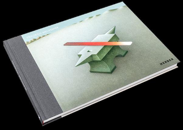 Friedrich Meckseper, Cover, Buch, Book, Katalog, Catalogue, Layout, Gestaltung, Buchgestaltung, Typografie, Typography, claasbooks, Claas Möller