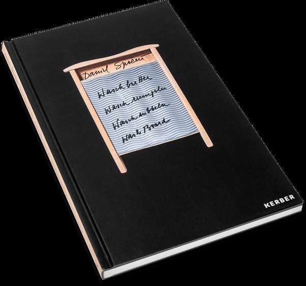 Daniel Spoerri, Historia Rerum Rariorum, Cover, Buch, Book, Katalog, Catalogue, Layout, Gestaltung, Buchgestaltung, Typografie, Typography, claasbooks, Claas Möller