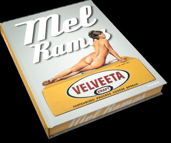 Mel Ramos, Catalogue Raisonné, Cover, Buch, Book, Katalog, Catalogue, Layout, Gestaltung, Buchgestaltung, Typografie, Typography, claasbooks, Claas Möller