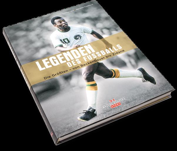 Legenden des Fussballs, Cover, Buch, Book, Katalog, Catalogue, Layout, Gestaltung, Buchgestaltung, Typografie, Typography, claasbooks, Claas Möller