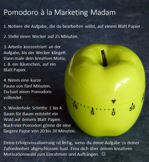 Marketing Madam Lisa Ringen hat ein Reward-System entwickelt, bei dem die Pomodoro-Technik mit Gamification der App Forest kombiniert wird.