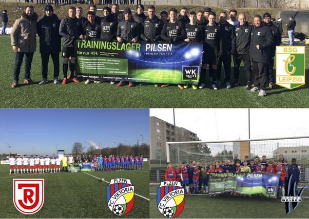 BSG Chemie Leipzig, FC Viktoria Pilsen U19 vs SSV Jahn Regensburg U19, FC Viktoria Pilsen U12 & U13 vs SpVgg Weiden U13 & U14
