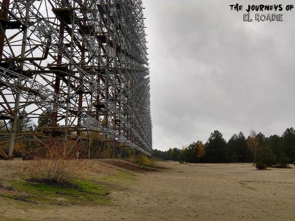 Duga 1 - Raketenüberwachungsstation Tschernobyl