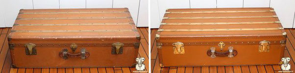 Moynat dog trunk
