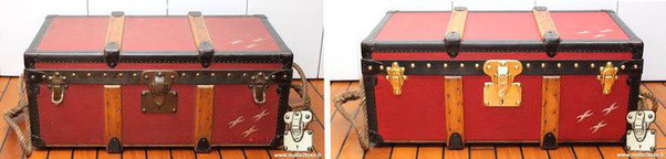 Philanthropic trunk Albert Kahn boulogne exceptional trunk vuitton