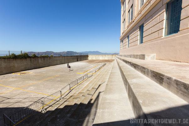 sanfrancisco,san,francisco,alcatraz,baseball,recreation,yard,insel,sehenswürdigkeiten,tipps,oktober,fotografie