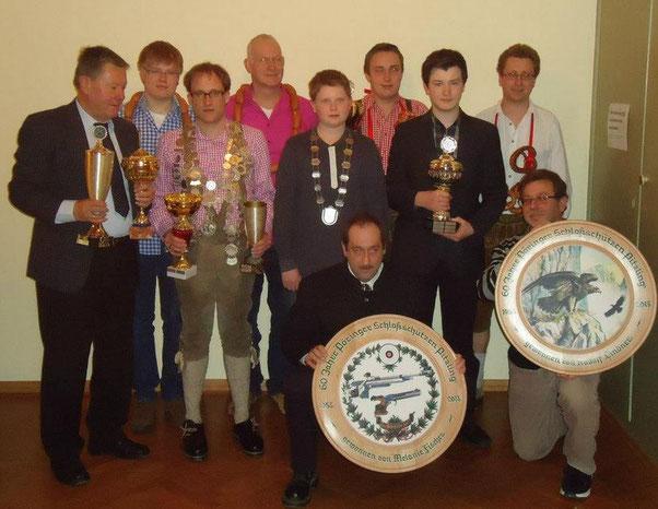 Werner Sauer, Niklas Huber, Marc Reiber, Markus Stütz, Felix Robert, Reiner Eldner, Louis Melder, Jakob Robl, Thomas Lindner, Rudolf Lindner