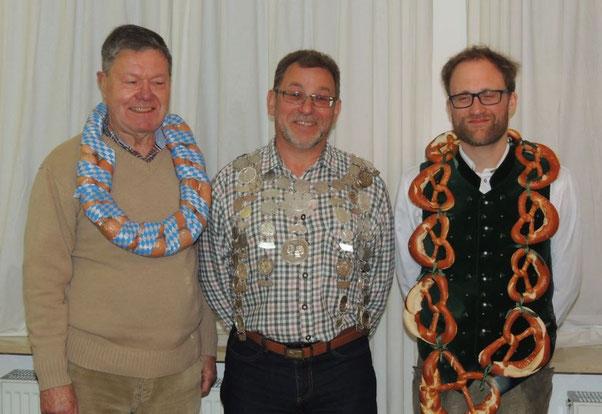 Werner Sauer, Rudolf Lindner, Marc Reiber