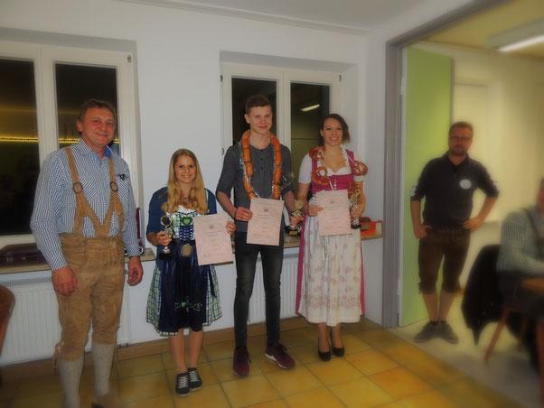 Anton Melder, Hannah Müller, Felix Robert, Melanie Fischer